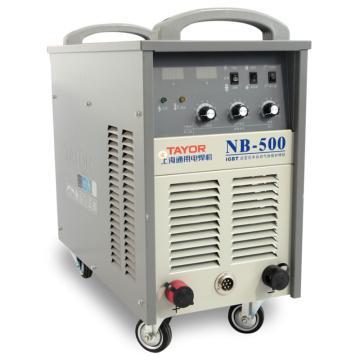 上海通用NB-500逆变式半自动气体保护焊机套机,适用380V电源,气保焊手工焊两用机