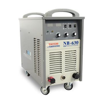 上海通用NB-630逆变式半自动气体保护焊机套机,适用380V电源,气保焊手工焊两用机