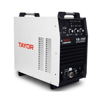上海通用NB-350T逆变式双功能半自动气体保护焊机,适用380V电源,气保焊手工焊两用机