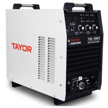 上海通用NB-500T逆变式双功能半自动气体保护焊机,适用380V电源,气保焊手工焊两用机