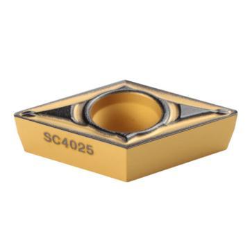 刃天行 刀片,DCMT11T304-PL SC4025,10片/盒