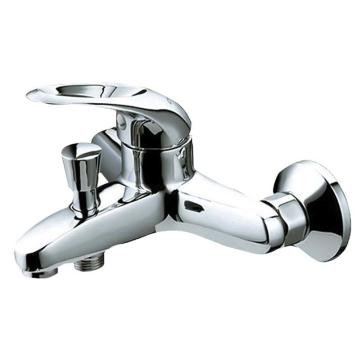 九牧 时尚铜合金材质浴缸龙头,进水口中心距150mm,外接螺纹G1/2B,3577-050/1C-1