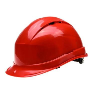 代尔塔DELTAPLUS 安全帽,102009-RO,QUARTZ UP IV PP材料 8点式织物内衬 后箍调节(不含下颚带)