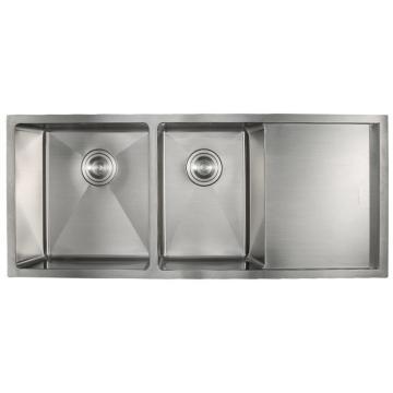 九牧 不锈钢双槽厨房水槽,槽体规格:1080*450*210,06070-7Z-1