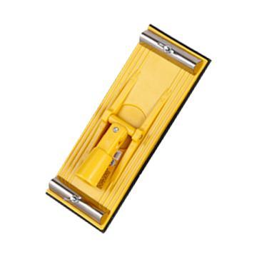 克里斯汀 顶面砂纸布打磨器,85mmX230mm,D7303,多功能砂纸架 墙面吊顶 打磨机 手动砂纸机