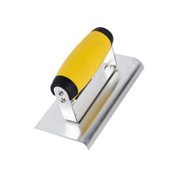 克里斯汀 修边抹泥刀,高碳钢镀锌,150x75x1.2mm,D8391