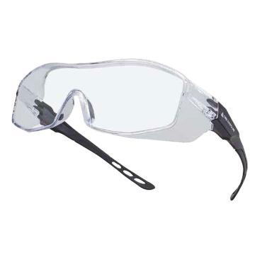代尔塔DELTAPLUS 访客眼镜,101156,外框眼镜 KEKLA 参观眼镜 防刮擦 透明镜片