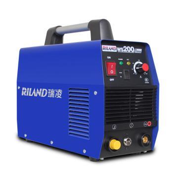 瑞凌 逆变单用直流氩弧焊机,WS-200QQ(替换WS-200S),220V,官方标配