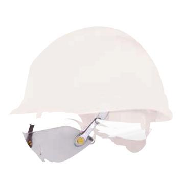 代尔塔DELTAPLUS 安全帽用防护眼镜,101134,FUEGO 防雾防刮擦 透明镜片
