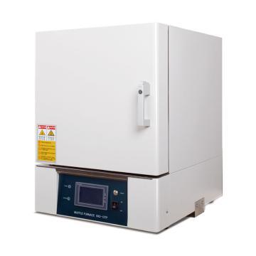精锐 箱式电阻炉,双层机箱陶瓷纤维炉膛,最高温度1200℃,工作室尺寸:300*200*120/7.2L,SX2-5-12TP