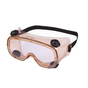 代尔塔DELTAPLUS 防化护目镜,101100,RUIZ1 ACETATE 防化加强 透明镜片
