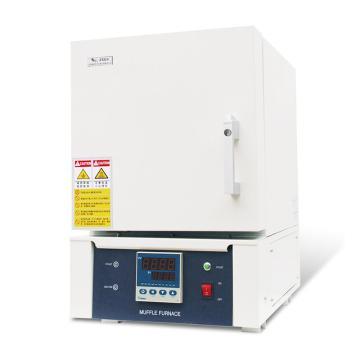 精锐 箱式电阻炉,一体式、普通炉膛,最高温度1200℃,工作室尺寸:300*200*120/7.2L,SX2-5-12G