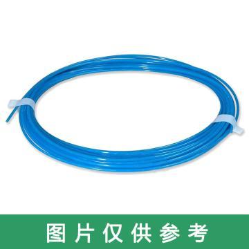 SMC 难燃性FR软尼龙管,φ10*6.5,蓝色,100米/卷,TRS1065BU-100