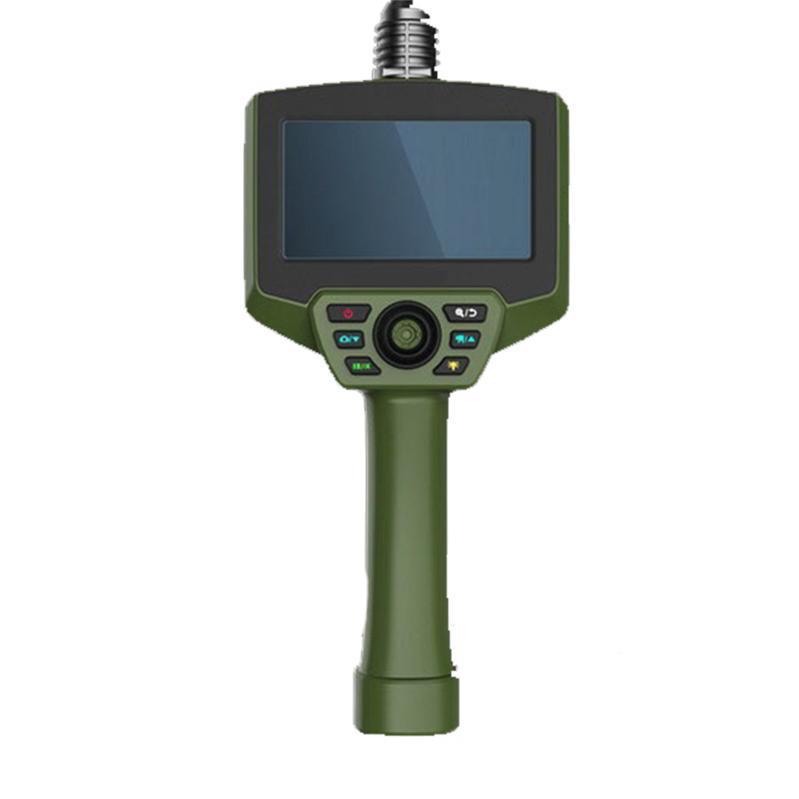 """华鸣 全方位摇杆视频内窥镜,5""""显示器,800*480分辨率,5米长蛇管,HM6015"""