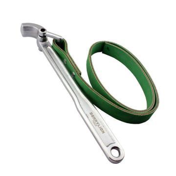 百威狮 皮带扳手,12寸/300mm,带式滤芯器扳手 机油格皮带扳手 机油滤芯扳手 皮带式滤清器扳手