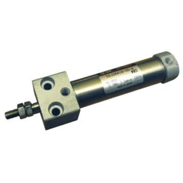 SMC 气缸,直接安装型,单杆双作用,CDJ2RA16-100Z-B
