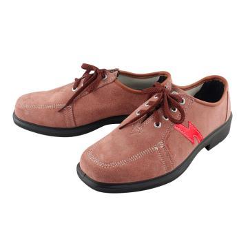 盾王 翻毛皮电工绝缘鞋,9778-41