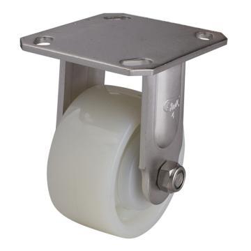 易得力(EDL) 定向尼龙(PA)脚轮,脚轮不锈钢重型4寸380kg,S71704-S714-25