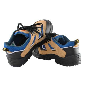 优工 运动安全鞋,PAD-C1721YL-37,运动款防砸防刺穿防静电安全鞋