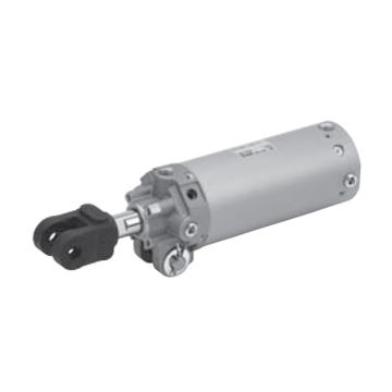 SMC 夹紧气缸,耐强磁场磁性开关,钢带安装型,CK1A63-75YZ