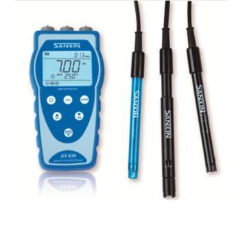 pH仪/电导率仪/溶解氧仪,便携式电化学仪表,SX836