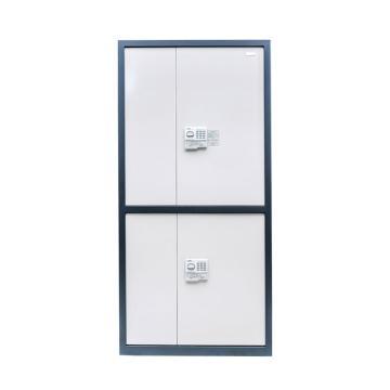 国保 保密柜, G2990密码文件柜 1.9m高四门全钢防盗 G2990四层两抽保密文件柜