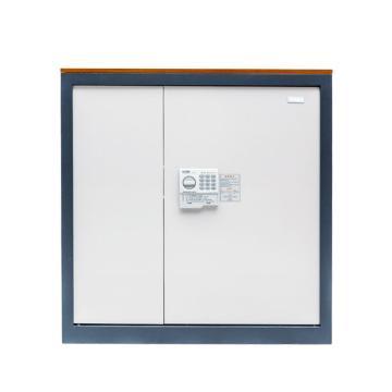 国保 保密柜,G9092保密文件柜办公保险柜档案保管柜1米高双门双色单位企业用 G9092两层两抽保密柜
