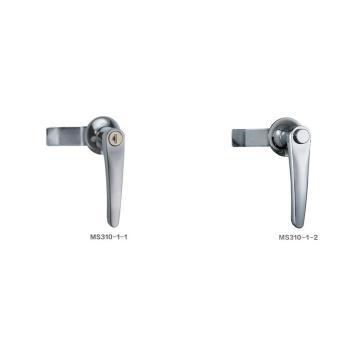 恒珠 把手锁,配电箱锁,MS310-1-2,按钮型