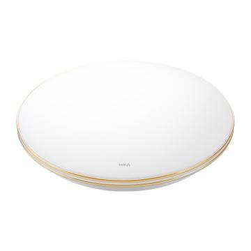 公牛 LED吸顶灯,24W白光,GN-B12435-B白色圆形金裳24W,15500019,单位:个