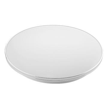 公牛 LED吸顶灯,24W白光,GN-B12435-A白色圆形 银裳,15500018,单位:个