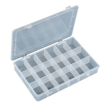 宝工Pro'sKit 元器件收纳盒,18格,275x183x42mm,203-132I,电子元件盒 分隔盒 元件分格箱