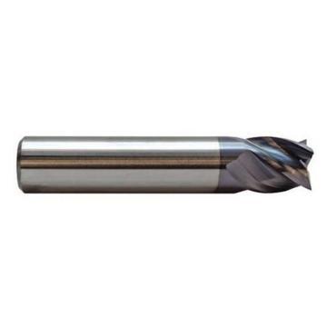 锐隆 合金超硬涂层铣刀,D10*25*75R0.5