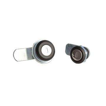 恒珠 转舌锁,机柜锁通开,MS407-1,K0600,黑色