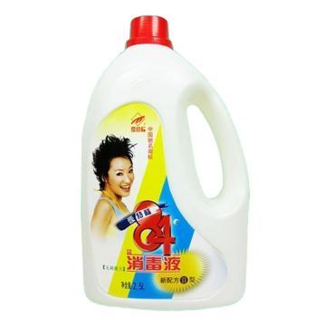 爱特福84消毒液,消毒水2.5L消毒剂 去霉去臭清洁漂白杀菌 6桶/箱 单位:桶