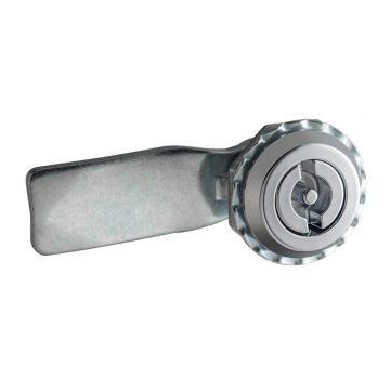 恒珠 转舌锁,机柜锁通开,一字芯,MS705-1-2,不带钥匙