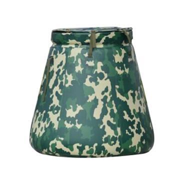 引江 软体PVC水罐,迷彩色,容量:1L