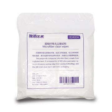 格洁超细纤维无尘擦拭布,834 004,10cm×10cm×400张/包 白色 单位:箱