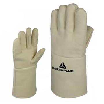代尔塔DELTAPLUS 隔热手套,203002-10,TERK500 防500度高温防切割,1副