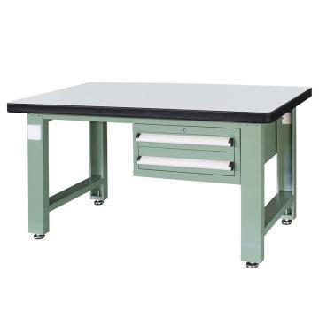信高(xingo) 重型标准工作台,1500*750*800 绿色台面(防火板台面),XFK-1520,不含安装费
