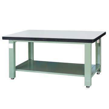 信高(xingo) 重型标准工作台,1800*750*800 绿色台面(防火板台面),XFK-1800D,不含安装费