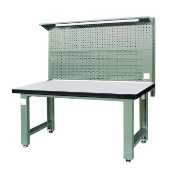 信高(xingo) 重型标准工作台,1800*750*800+936 绿色台面(防火板台面),XFK-1800G,不含安装费