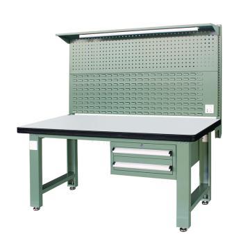信高(xingo) 重型标准工作台,1800*750*800+936 绿色台面(防火板台面),XFK-1820G,不含安装费