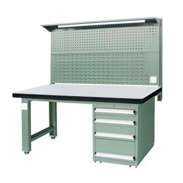 信高(xingo) 重型标准工作台,1800*750*800+936 绿色台面(防火板台面),XFK-1804G,不含安装费