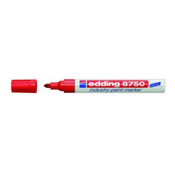 艾迪 金属油漆笔,红色 EDDING8750
