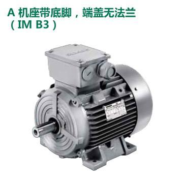 西门子SIEMENS 低压交流异步电机,7.5KW-4P-B5 1LE0001-1CB23-3FA4