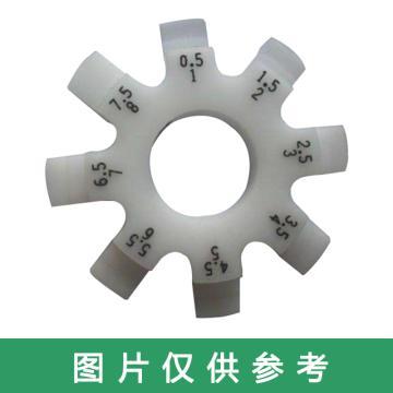 在宇 圆盘间隙尺/八爪塞尺0.5-8mm,71504-6S,不含第三方检测