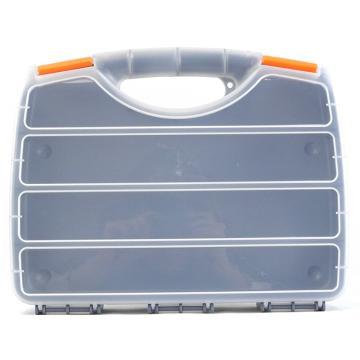 西域推荐 手提零件箱/整理箱/工具箱全新PP料,尺寸:32*25.5*6,型号:G-320K