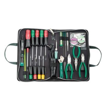 宝工Pro'sKit 基本电工工具组,23件套,1PK-813B-1