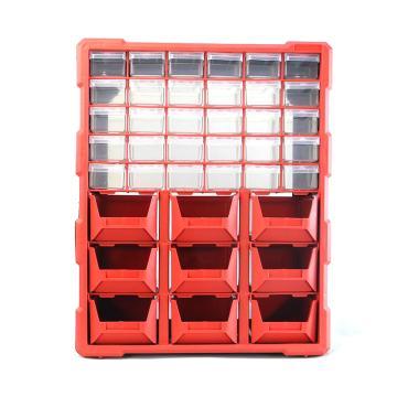 西域推荐 立式零件箱/整理箱/工具箱全新PP料,尺寸:47.5*38*16,型号:G-1501