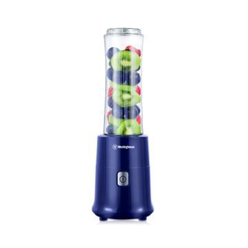 美国西屋(Westinghouse)便携式榨汁机,多功能奶昔水果汁机 双杯 WSX-S11